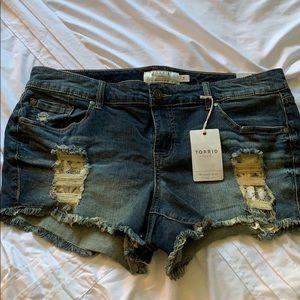 Torrid denim shorts - Size XL